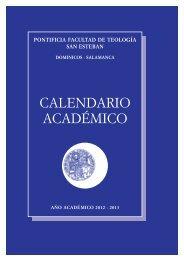 Descargar Calendario Académico en PDF - Facultad de Teología ...