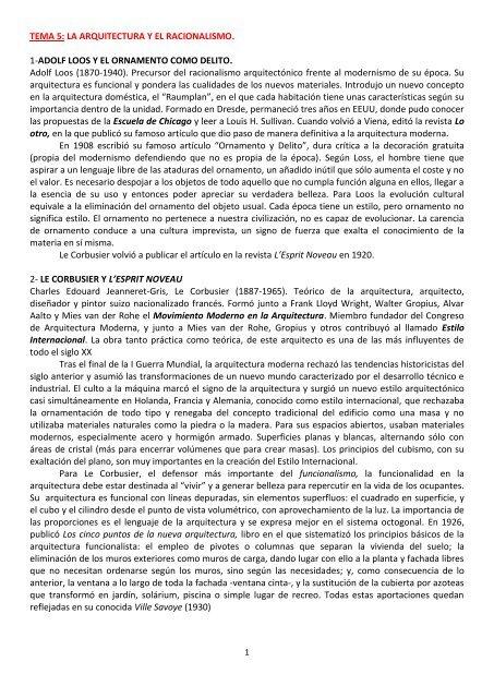 Tema 5 Grado De Historia Del Arte Uned