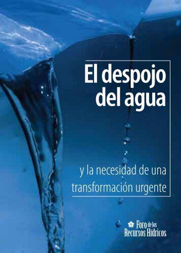 El despojo del agua - Red Vida