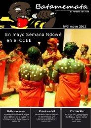 batamemata mayo 2012 - Centro Cultural de España en Bata