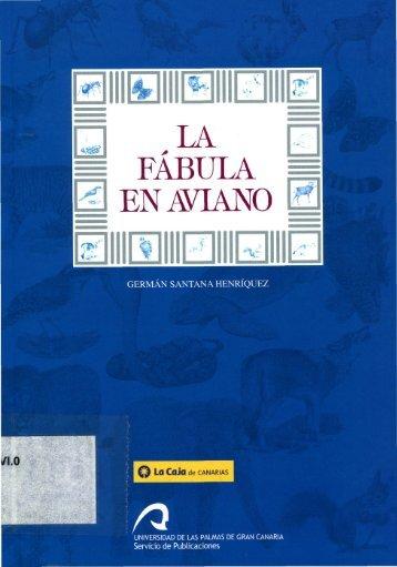 La Fábula en Aviano - Acceda - Universidad de Las Palmas de Gran ...