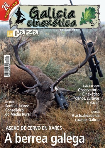 revista completa en PDF - Galicia Cinexética