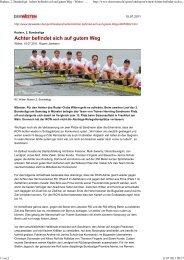 2011-07-10 DERWESTEN online - Ruder-Club Witten eV