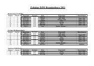 Zeitplan Regatta Bremen - Ruder-Club Witten eV