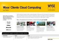 Wyse® Cliente Cloud Computing - Wyse Technology