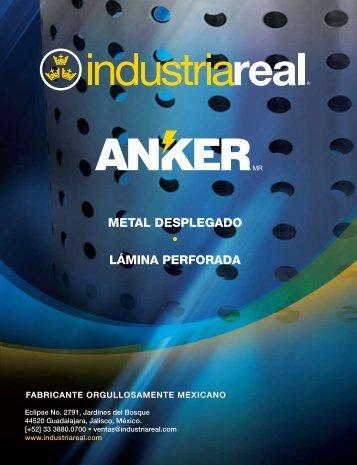 METAL DESPLEGADO LÁMINA PERFORADA - Industria Real