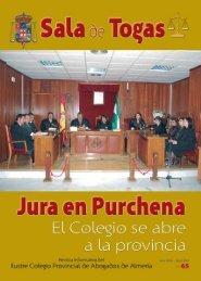 SALA DE TOGAS - Ilustre Colegio de Abogados de Almería