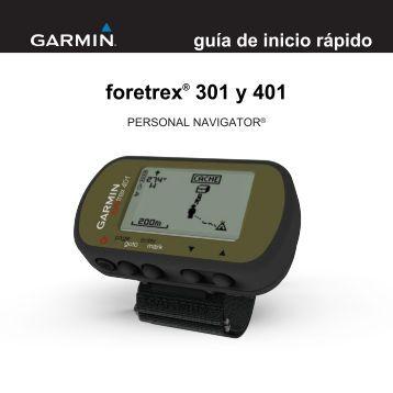 foretrex® 301 y 401 - Garmin