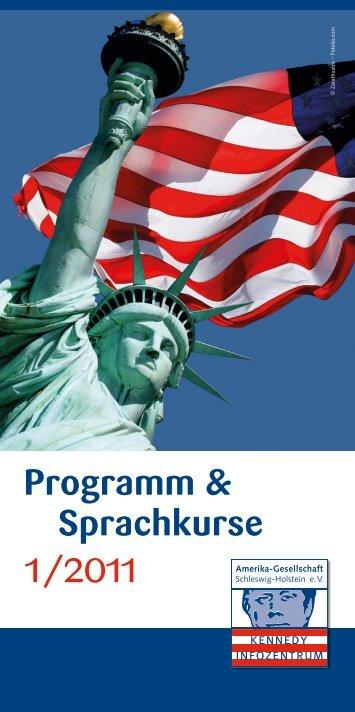 Programm & Sprachkurse - Amerika-Gesellschaft Schleswig ...