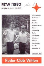 Kurzmitteilung - Ruder-Club Witten eV