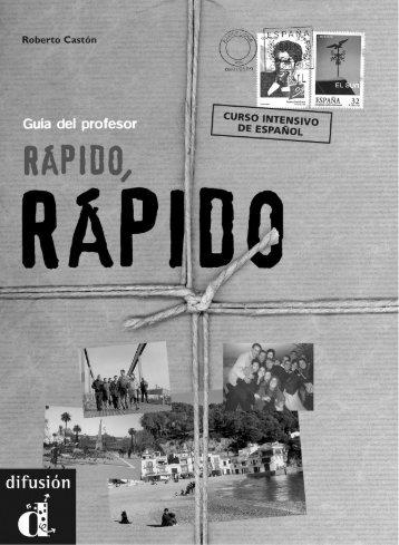 Rápido, rápido - Libro del profesor - PDF descarga gratuita - Difusión