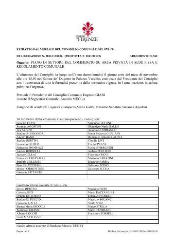 PIANO DI SETTORE DEL COMMERCIO SU AREA PRIVATA IN ...