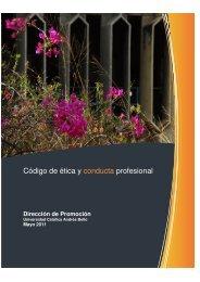 Código de ética y conducta profesional - Universidad Católica ...