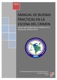 manual de buenas practicas en la escena del crimen - Aicef.net