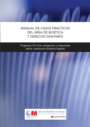 manual de casos prácticos - Comunidad de Madrid