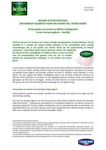 2009 03 Activia Delicioso NL.pdf - Danone