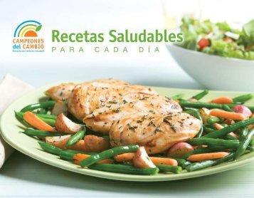 Recetas Saludables - Champions for Change