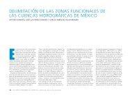 delimitación de las zonas funcionales de las cuencas hidrográficas ...