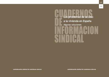 Informe vivienda 2003 - CCOO