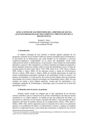 aplicaciones de los principios del aprendizaje social - UNED Illes ...