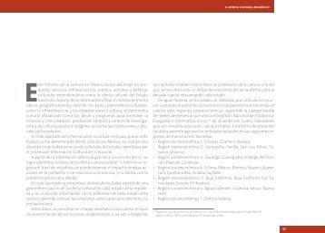 Este informe de la cultura en México busca delimitar los pro ... - UNAM