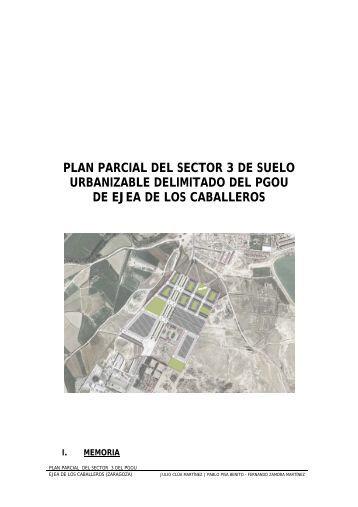 plan parcial del sector 3 de suelo urbanizable delimitado del pgou