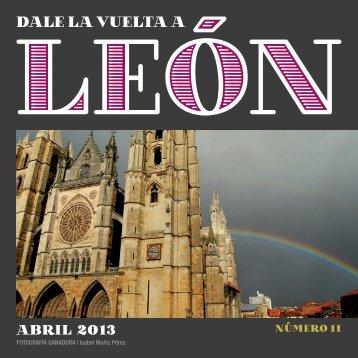 11 DALE LA VUELTA A LEON ABRIL.indd - Dale la vuelta a León