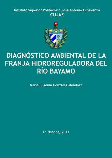 Diagnóstico ambiental de la franja hidroreguladora del río Bayamo