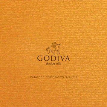 Catálogo Corporativo 2012-2013 - Godiva Barcelona