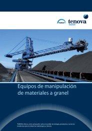 Equipos de manipulación de materiales a granel - Takraf