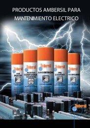productos ambersil para mantenimiento electrico - Bienvenidos a ...