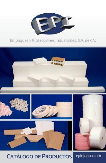 Catálogo de Productos - EPI ::- Empaques y Protecciones ...