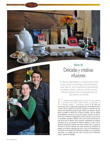 Delicadas y creativas infusiones - Chef & Hotel
