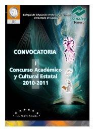 I Concurso Académico y Cultural Estatal 2011 - Conalep