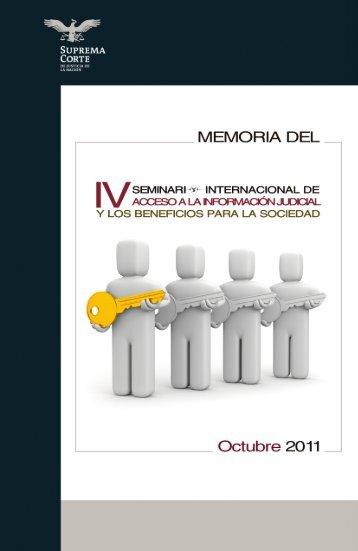 Memoria del Evento - Suprema Corte de Justicia de la Nación