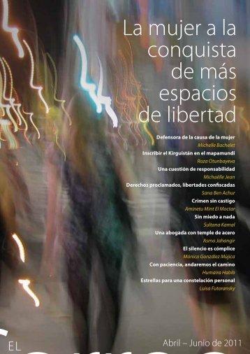 La Mujer a la conquista de más espacios de libertad; The UNESCO ...