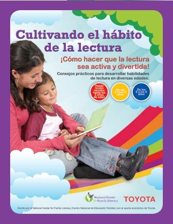 Cultivando el hábito de la lectura - National Center for Family Literacy