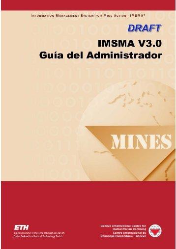 IMSMA V3.0 Guía del Administrador - gichd
