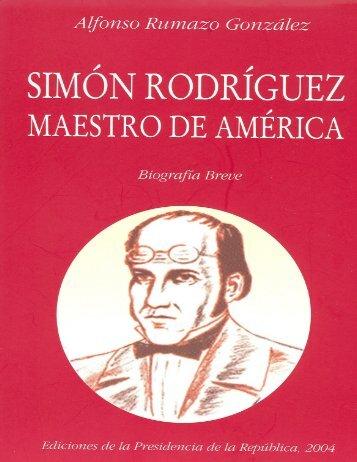 Simón Rodríguez, Maestro de América - Ministerio del Poder ...