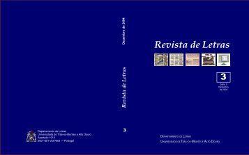 Revista de Letras - Universidade de Trás-os-Montes e Alto Douro