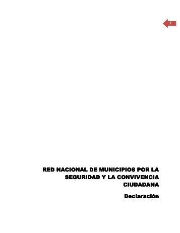 Declaratoria Constitutiva - SE SNSP