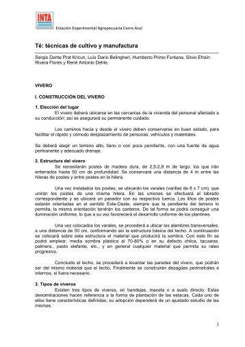 Te_tecnicas_cultivomanuf_vivero.pdf - INTA