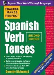 Practice Makes Perfect Spanish Verb Tenses, Second ... - Ktooba.com