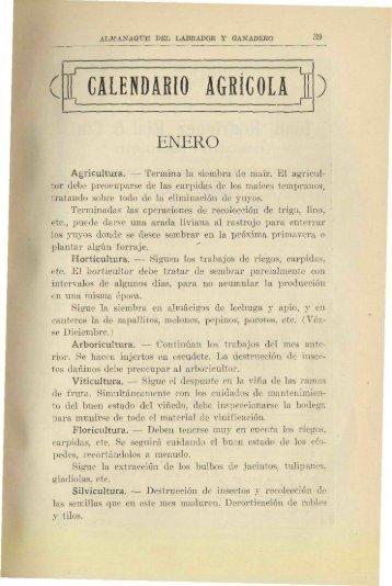 í CALENDARIO AGRÍCOLA - Banco de Seguros del Estado