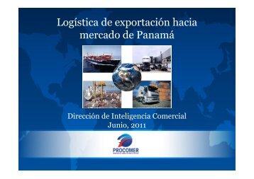 Logística de exportación hacia mercado de Panamá - Procomer
