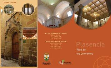 Ruta de los Conventos - Ayuntamiento de Plasencia
