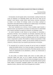 Intercambios comunicativos formales e informales - Reforma de la ...
