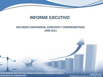 Informe Ejecutivo de Recursos, Diciembre 2010 - Secretariado ...