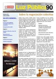 Negociación Colectiva - CCOO Endesa