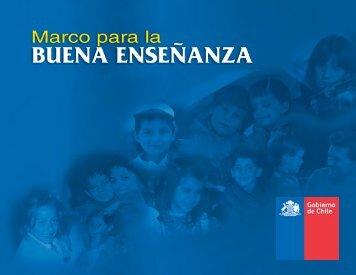 Marco para la Buena Enseñanza - AEP - Ministerio de Educación